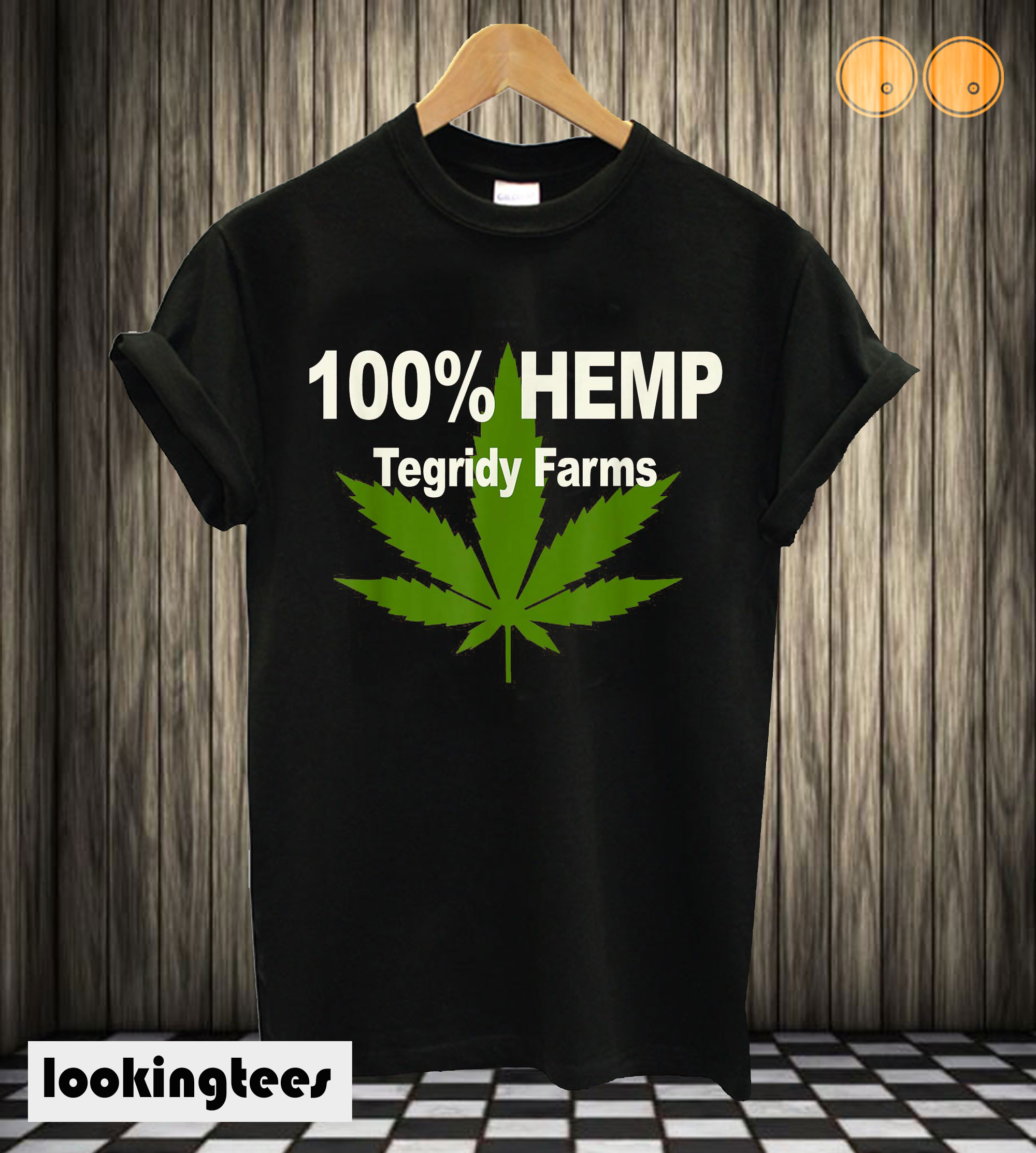 100% Hemp Tegridy Farms T shirt