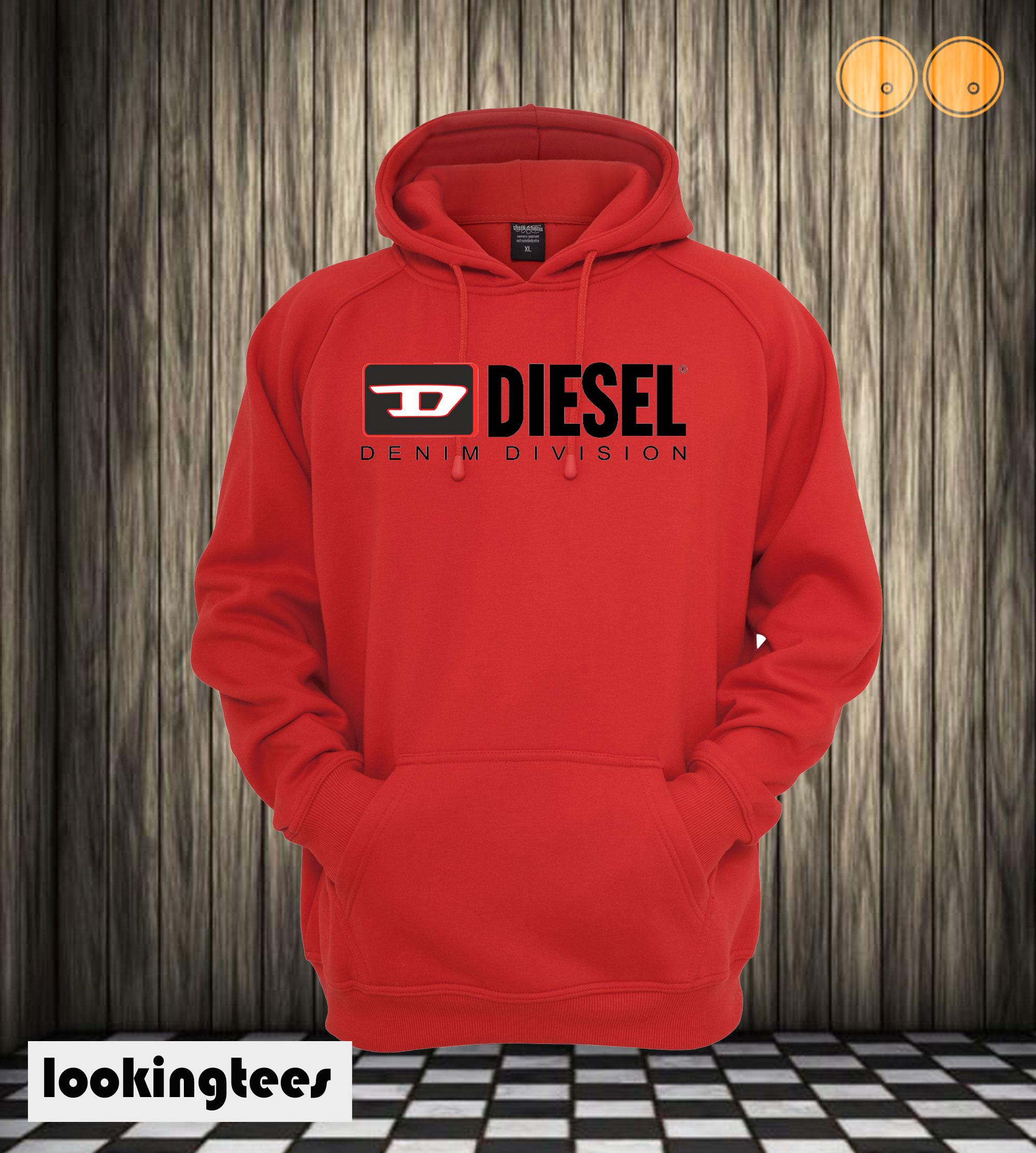 Diesel Denim Division Hoodie