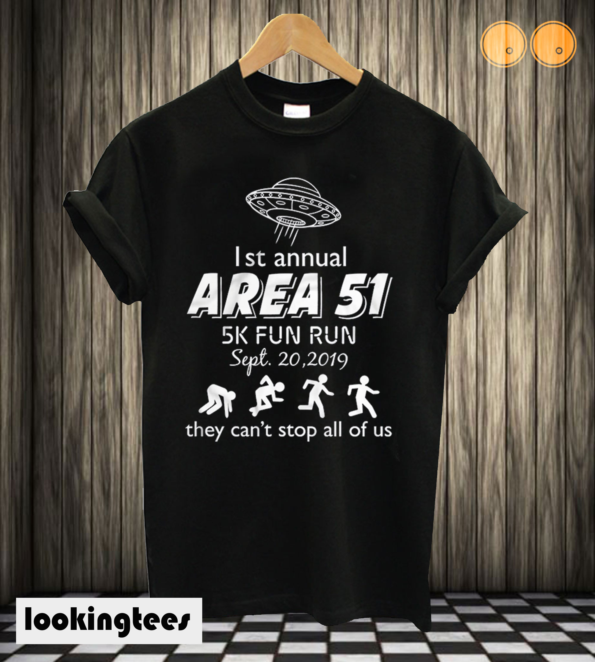 First Annual Area 51 T shirt