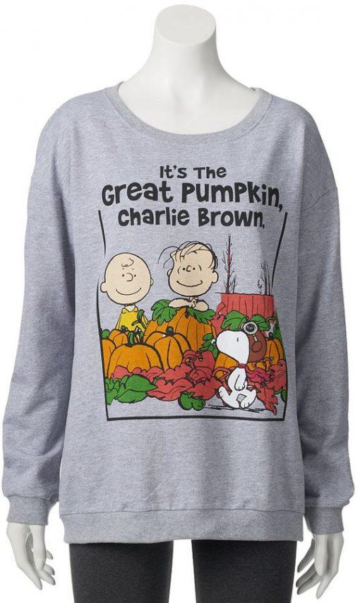 It's the Great Pumpkin Charlie Brown Sweatshirt