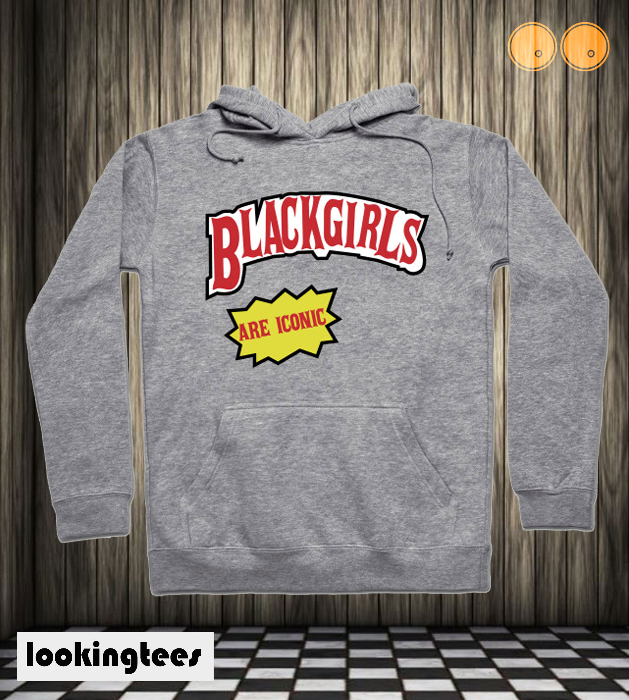 Black Girls are iconic Hoodie