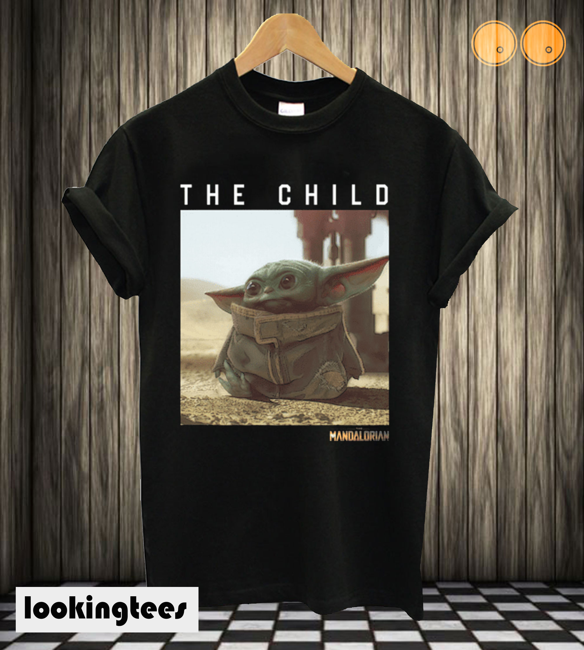 The Child Star Wars Mandalorian Baby Yoda T shirt