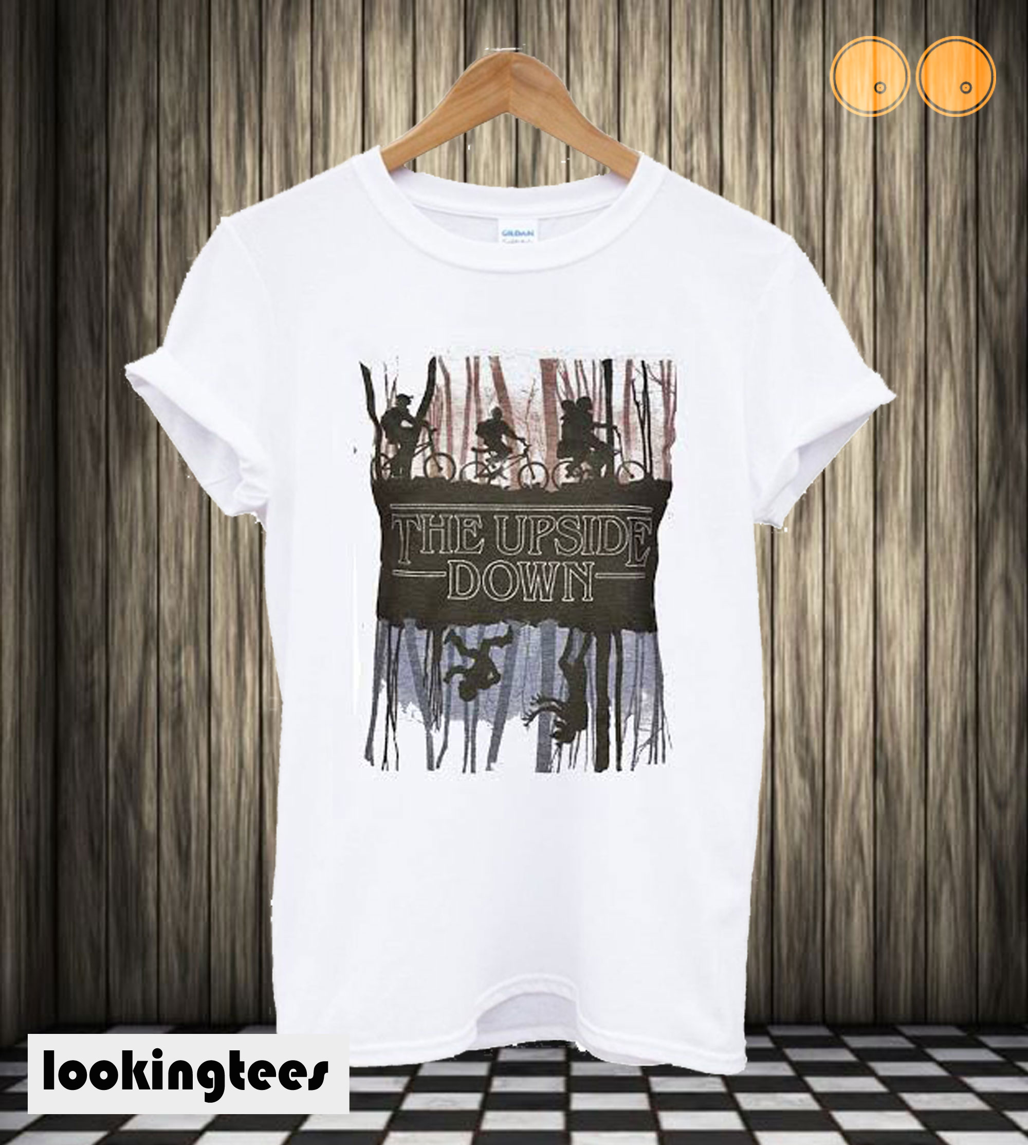 Stranger Things Inspired Upside Down T shirt