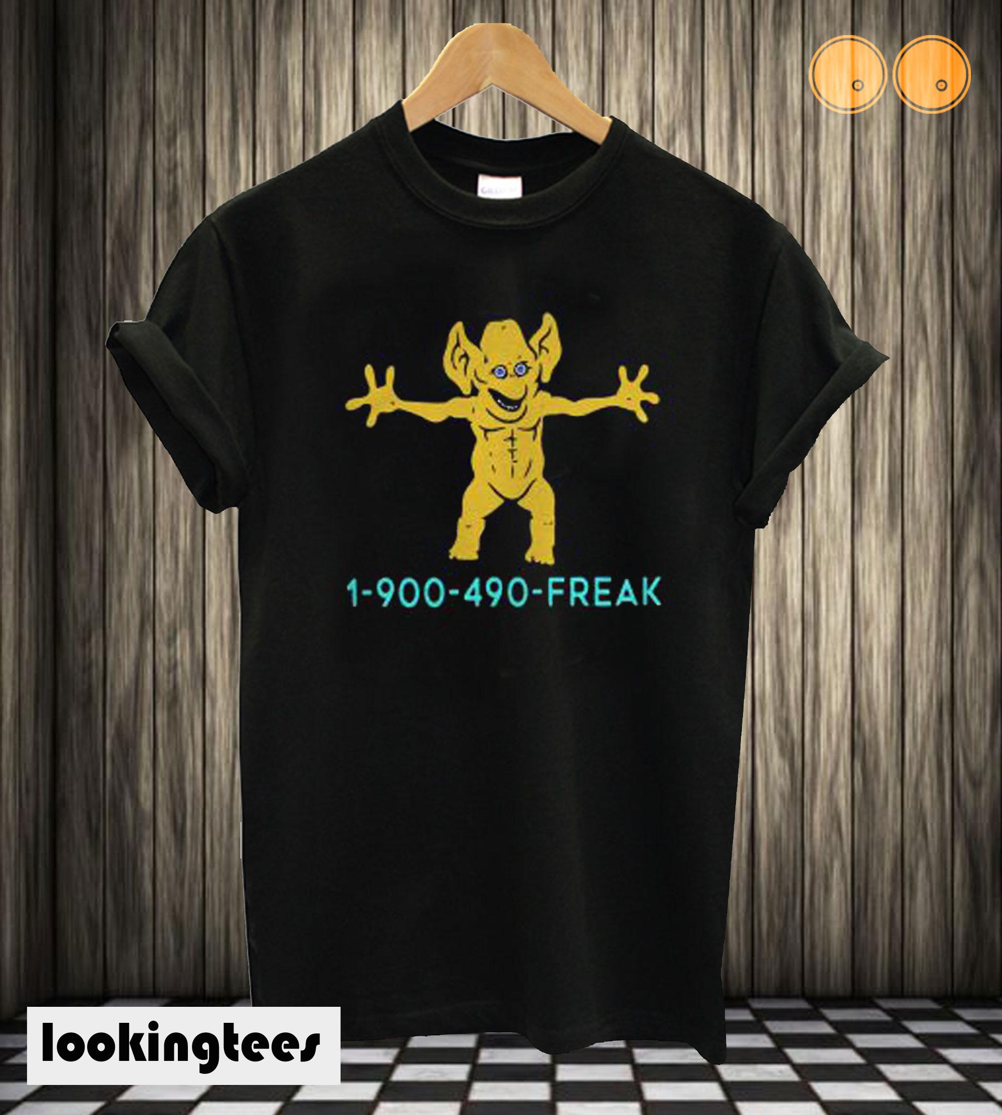 1 900 490 Freddie Freaker T-shirt