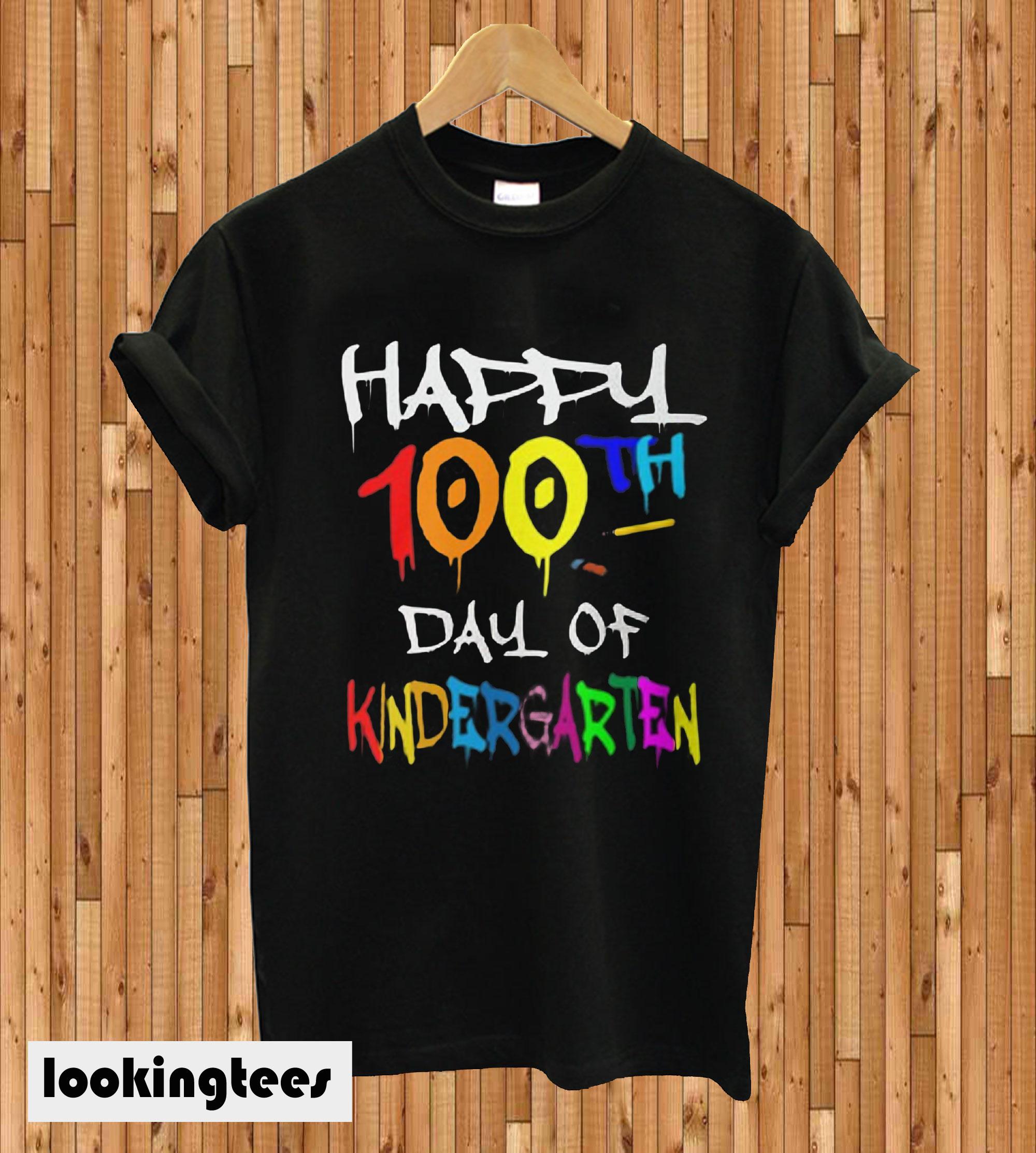 100th day of school Kindergarten T-shirt