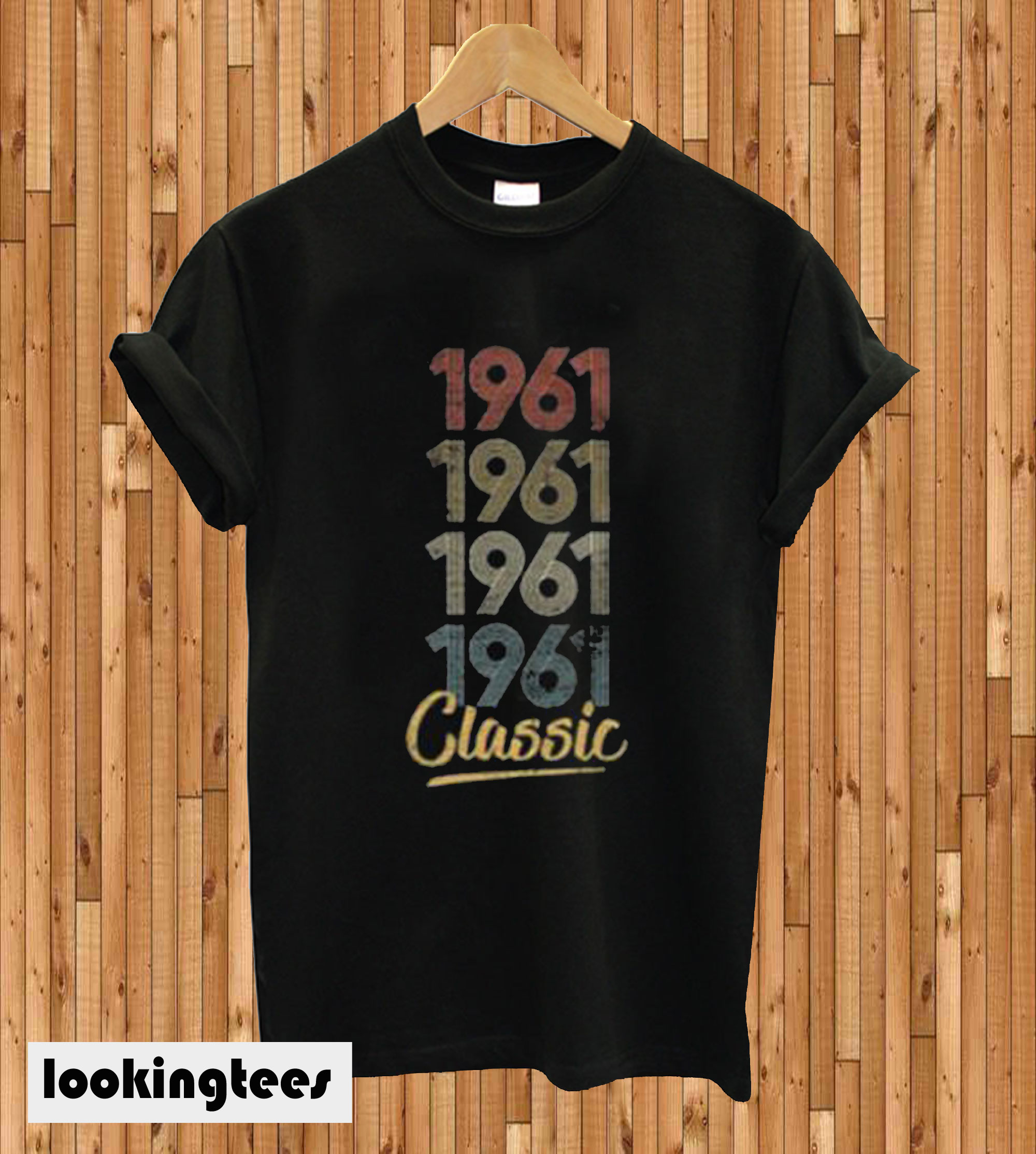 1961 Classic Bella And Canvas Women's Crop T-shirt