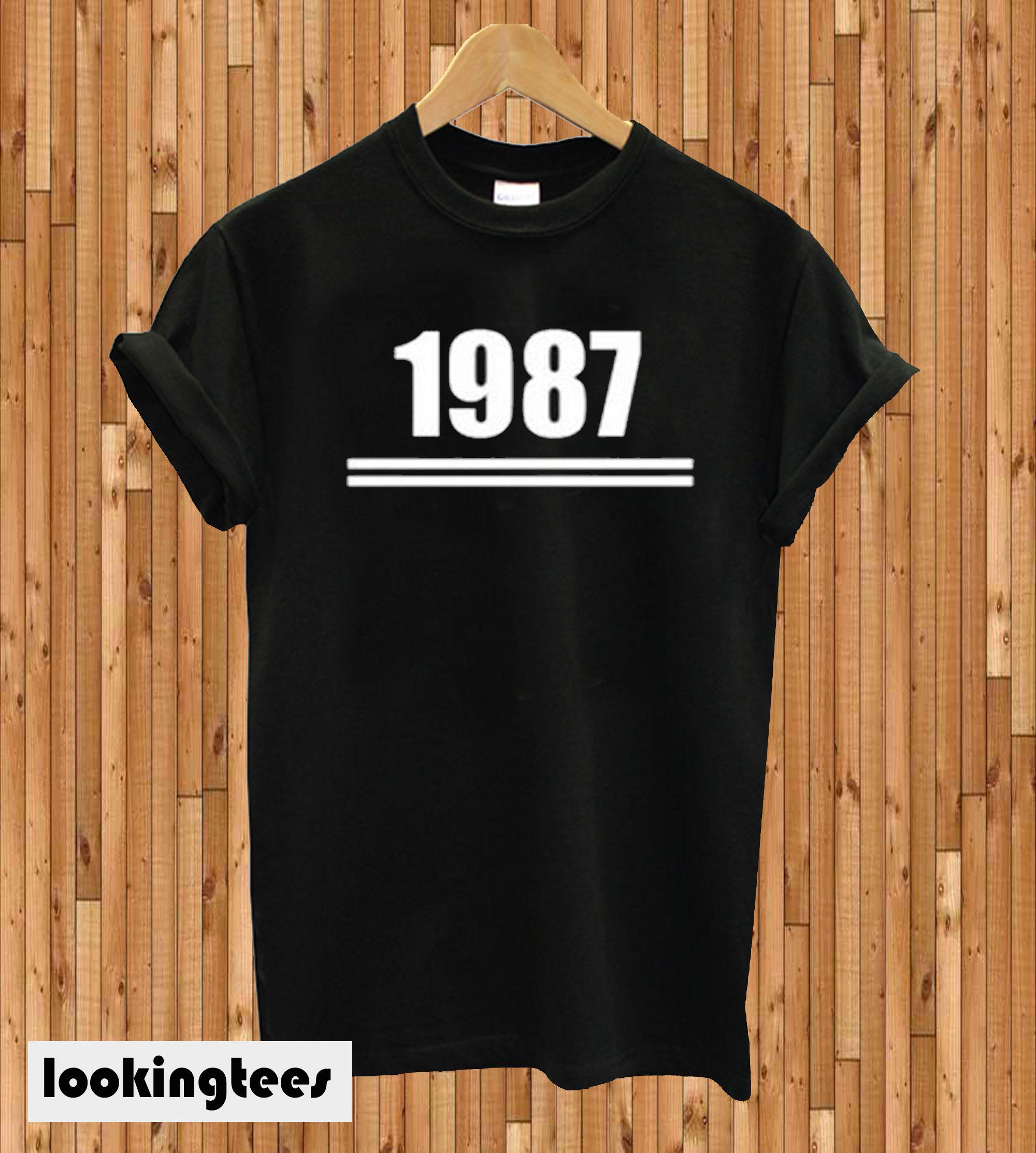 1987 Line T-shirt