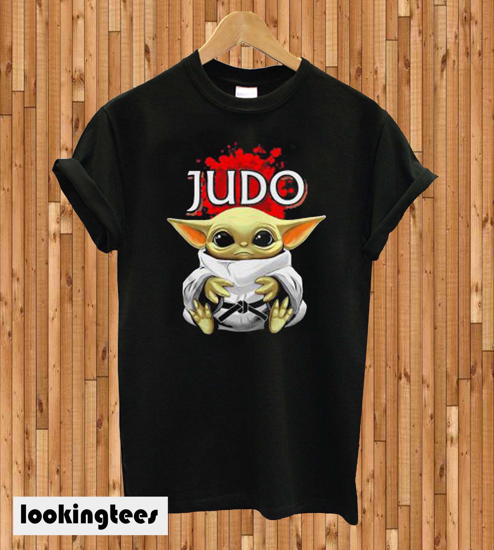 Star Wars Baby Yoda Judo T-shirt