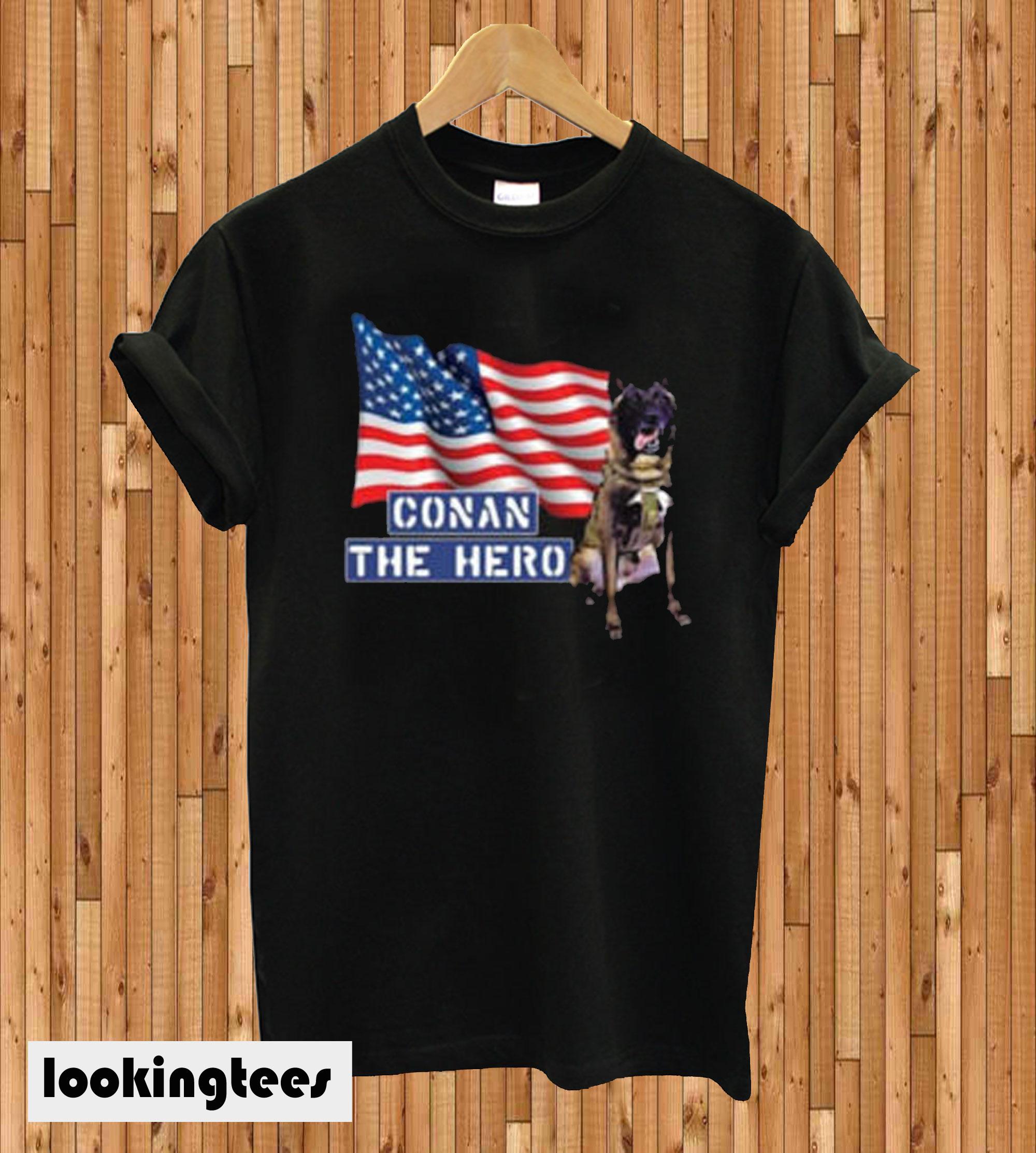 Zero Bark Thirty Conan The Hero T-shirt