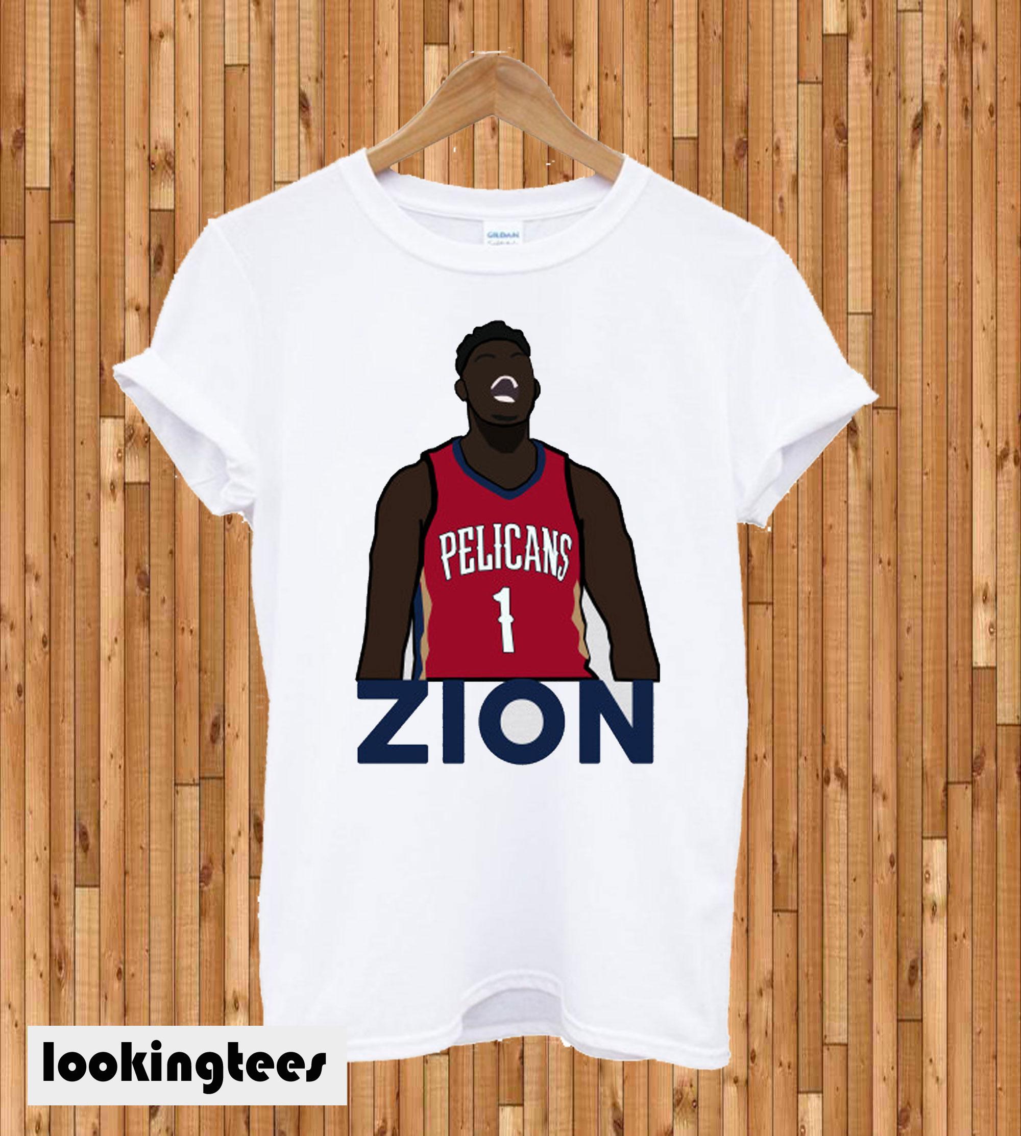 Zion Pelicans T-shirt