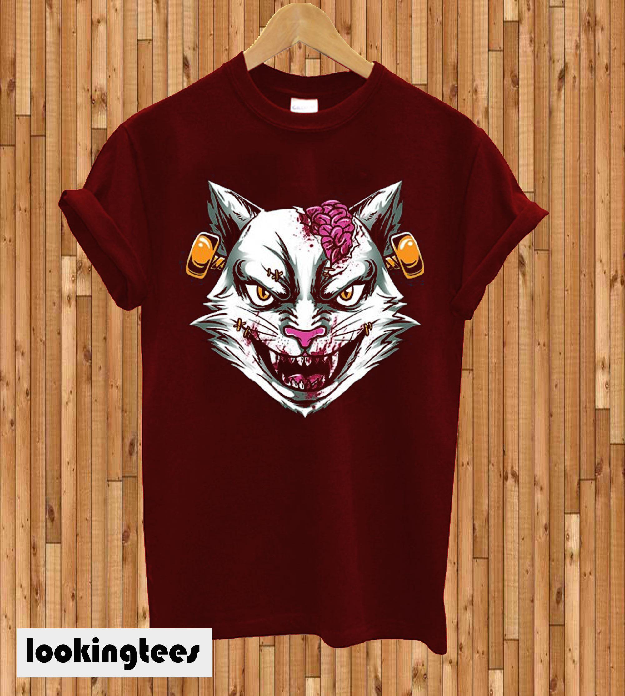 Zombie stein head T-shirt