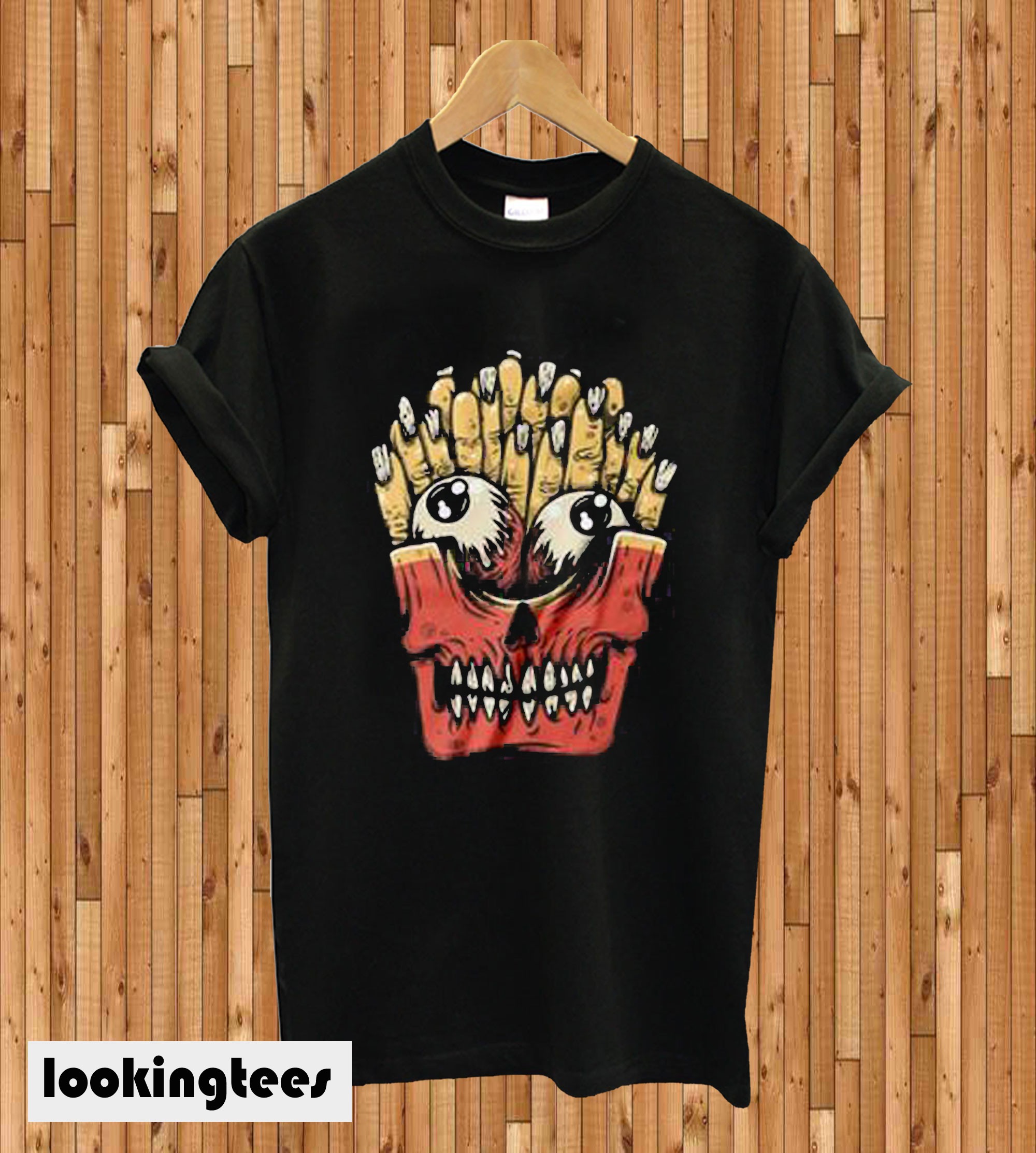 Zombie French Fries T-shirt