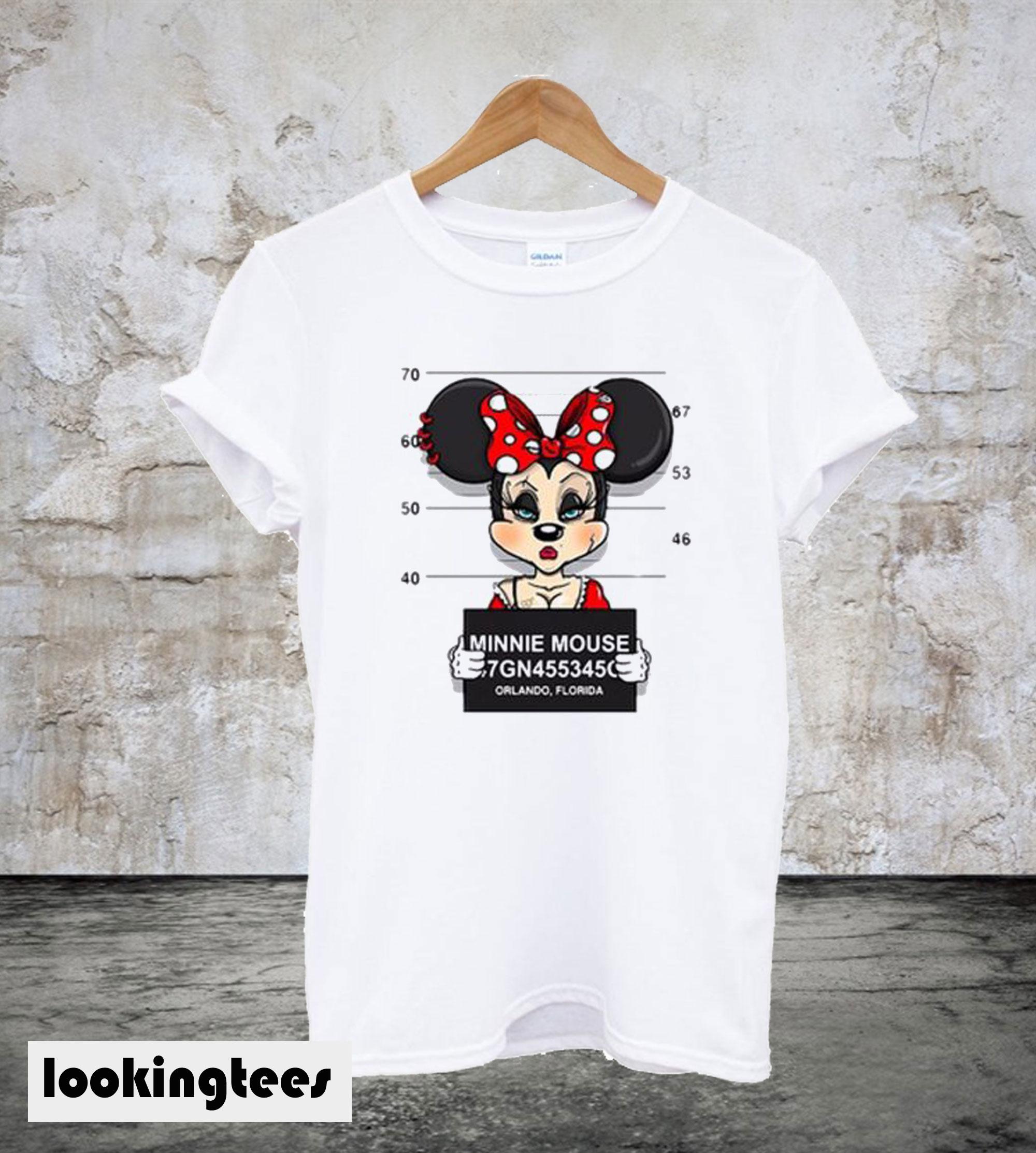 Minnie Mouse White T-Shirt