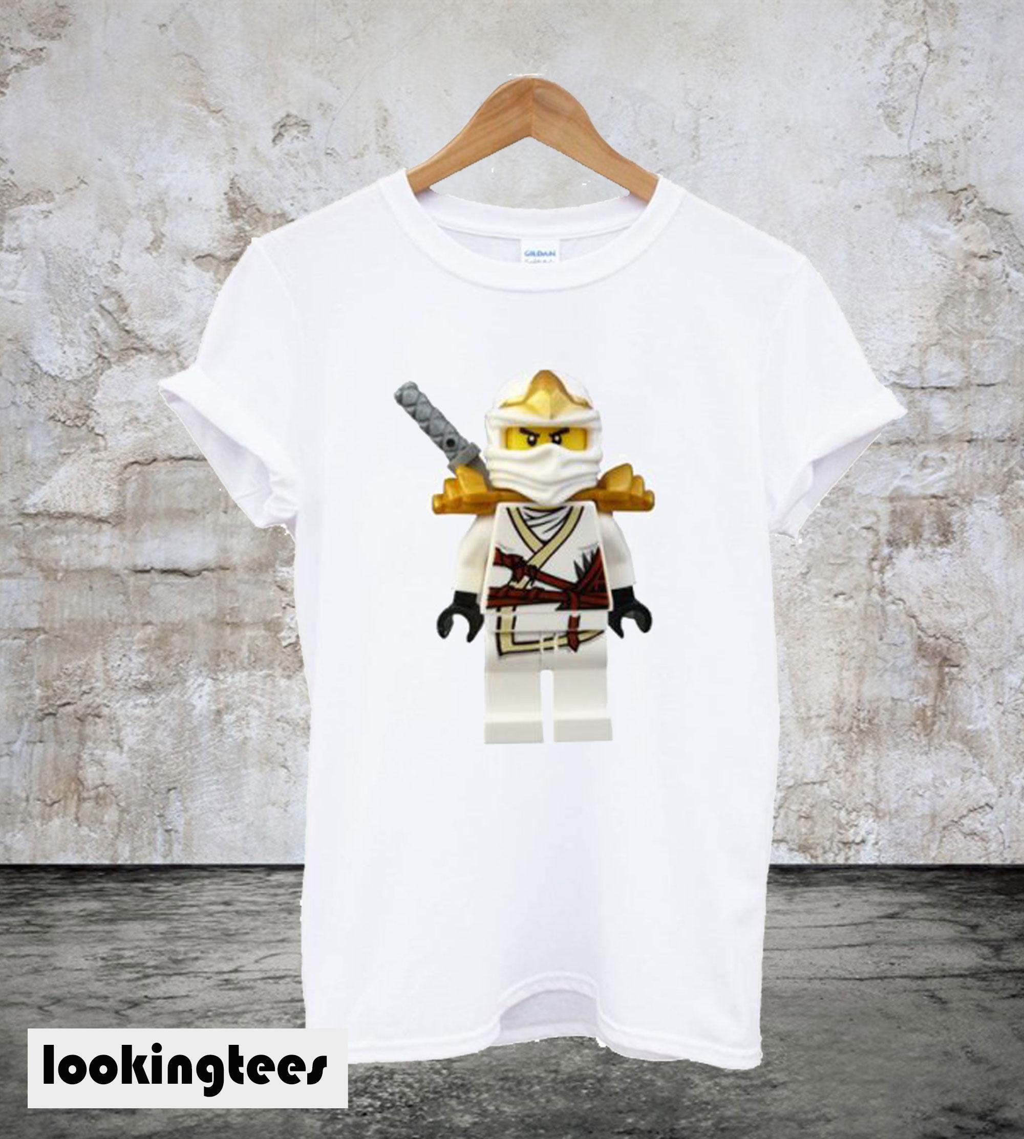 Zane White Ninjago Lego T-Shirt